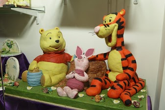 Marzipan Tiger and Pooh