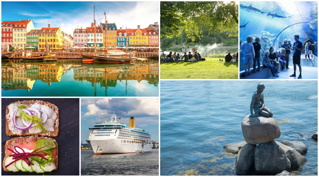 Copenhagen airport transfer and city tour in one