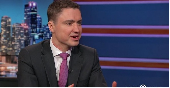 Estonian Prime Minister on The Daily Show