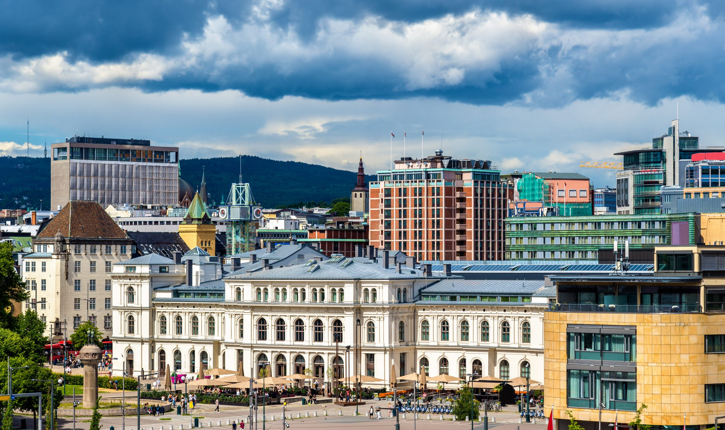 View of Oslo city centre - Nordic Experience
