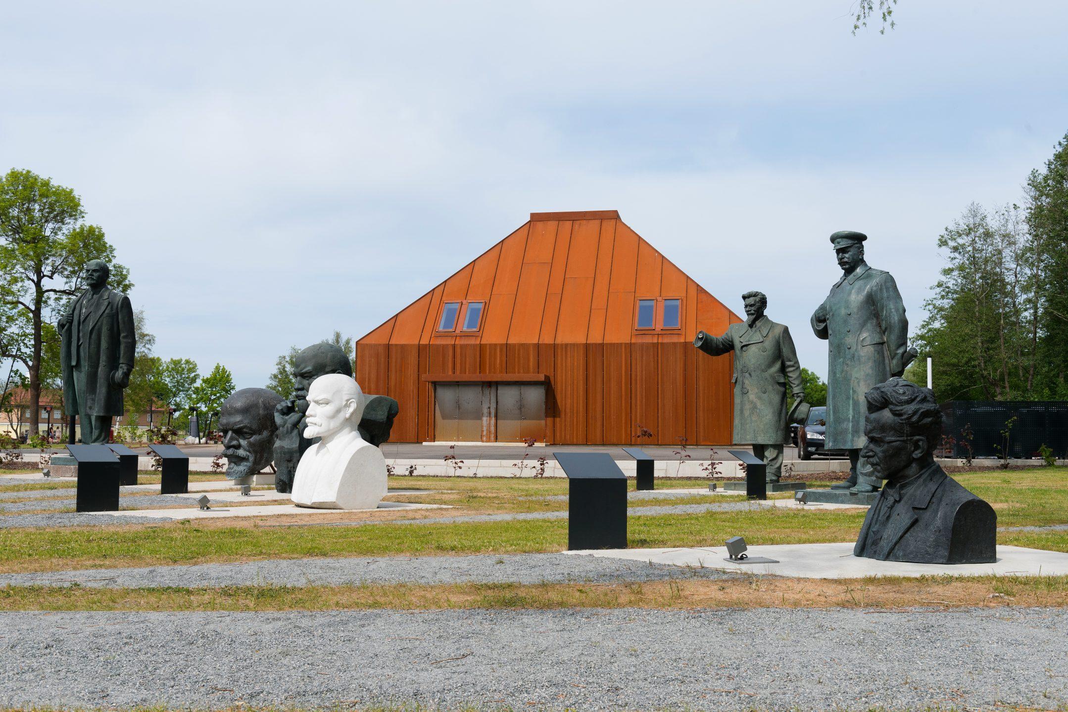 Soviet monuments sculpture park in Tallinn