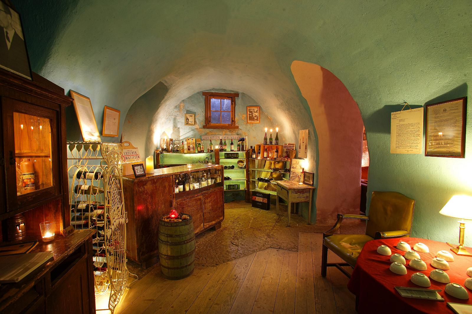 Wine cellar bar in Tallinn old town
